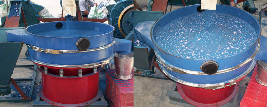 Vibrating Screen for Rubber Industry